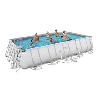 Каркасный бассейн Bestway 56470/56272 (671х366х132) с картриджным фильтром
