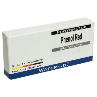 Запасные таблетки для тестера Water-id Phenol Red TbsPph50 (50 шт)