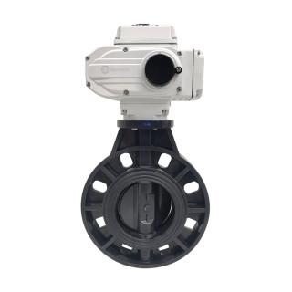 Дисковый поворотный затвор Aquaviva с электроприводом EPDM On-off AC220V
