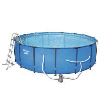 Каркасный бассейн Bestway 56462 (549х122) с картриджным фильтром