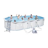 Сборный бассейн Bestway Hydrium 56604 (740х360х120) с песочным фильтром