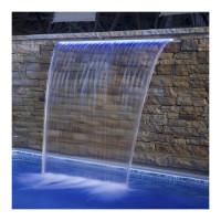 Стеновой водопад Aquaviva PB 300-150(L) с LED подсветкой