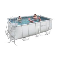 Каркасный бассейн Bestway 56456/56241 (412х201х122) с картриджным фильтром