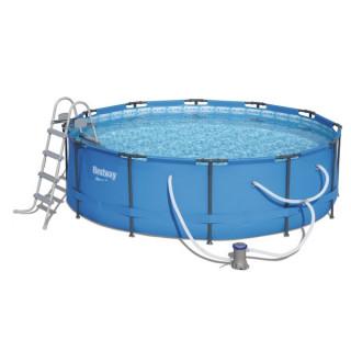 Каркасный бассейн Bestway 56418 (366х100) с картриджным фильтром
