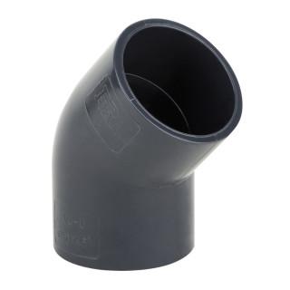 Отвод ПВХ 45° Aquaviva