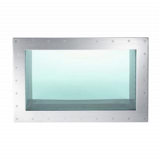 Подводное окно Wibre (1090 x 690мм) 316Ti с закаленным защитным стеклом