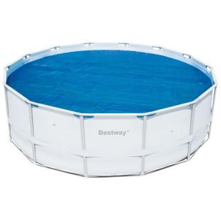 Теплосберегающее покрытие Bestway 58253 для бассейнов 4.57 / 4.88 м (d 462 см)