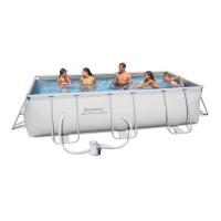 Каркасный бассейн Bestway 56251 (404х201х100) с картриджным фильтром