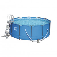 Каркасный бассейн Bestway 56438/56100 (457х122) с картриджным фильтром