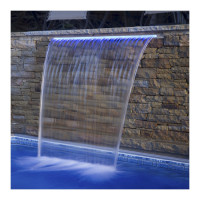 Стеновой водопад Aquaviva PB 600-150(L) с LED подсветкой
