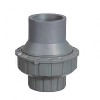 Обратный клапан поворотный ПВХ 90mm