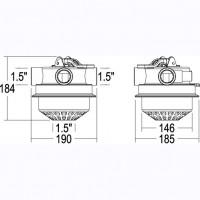 Кран четырехходовый 1,5''с верхним подключением Emaux MPV05