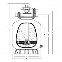 Фильтр Aquaviva V700(В)