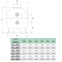 Фильтр Hayward Artic HCFA551102LVA Laminated (D1400)