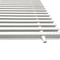 Переливная решетка Aquaviva дв. соед. 200*25мм Classik