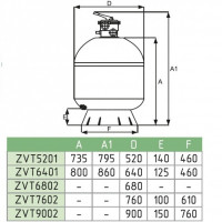 Фильтровальная установка Fiberpool VASO ZVTFN400-33