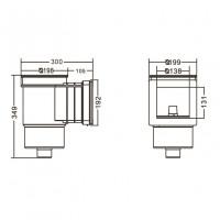 Скиммер под бетон Aquaviva Standard EM0010C