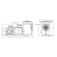 Насос AquaViva AQP-5.5 трехфазный