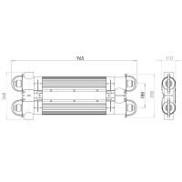 Ультрафиолетовая фотокаталитическая установка Elecro Quantum Q-130 с дозирующим насосом