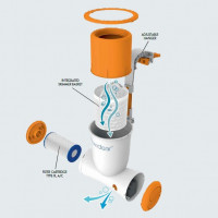 Фильтрационная установка Bestway 58462 (2,57м³/ч) Подвесная с мусороуловителем