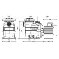 Насос Hayward Powerline 81002 (0,25 НР)
