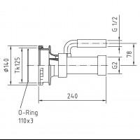 Проход Fitstar с инжектором для подающей форсунки (8662250)
