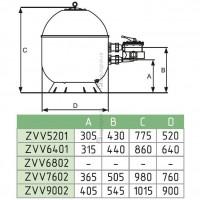 Фильтр Fiberpool VASO ZVV6802