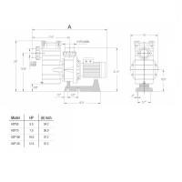 Насос Hayward HCP401253E1 (380/700V, 12,5HP)