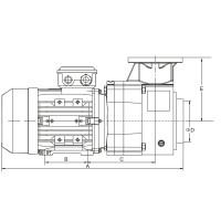 Насос AquaViva BQP-7.5 трехфазный
