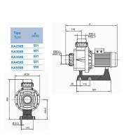 Насос Hayward HCP10553E1 KA550 T1.B (380V, 5,5HP)