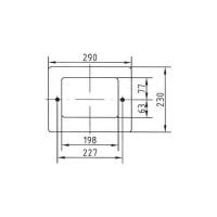 Рамка для скиммера Fitstar (1062020)
