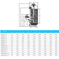 Фильтр Aquaviva SDB700-1.2 (D700) глубокой фильтрации
