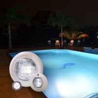 Светодиодный прожектор Hayward Mini LEDS (3leds) 18Вт White под лайнер