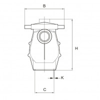 Насос AquaViva AQP-2.5B однофазный