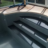 Лайнер Cefil Reflection темно-серый (25,2 м) объемная текстура