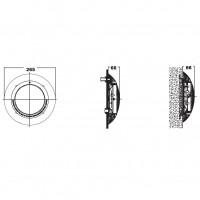 Галогенный прожектор KRIPSOL РEL 100.С 100 Вт