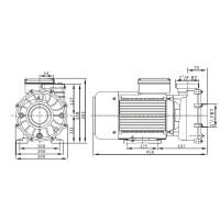 Насос AquaViva ZS500T трехфазный