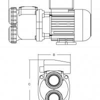 Насос Aquaviva SP100 однофазный