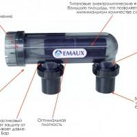 Преобразователь соли в хлор EMAUX SSC50-E
