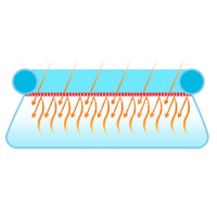 Теплосберегающее покрытие Bestway 58066 для бассейнов 5.49 м (d 455 см)