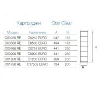 Картридж сменный Hayward CX0250 RE для фильтров Star Clear
