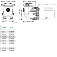 Насос Hayward Tristar SP32203 (2 HP) 380V