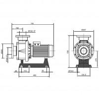Насос Fiberpool BTP-1000 (XBBTP1000)