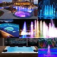 Прожектор светодиодный Aquaviva LED001 546LED (33 Вт) RGB