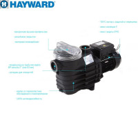 Насос Hayward SP2510XE163 EP100 (380V, 1HP)