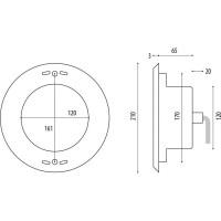 Прожектор светодиодный Wibre 15 LED, (42 Вт), 6000K