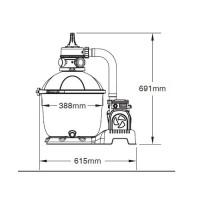Фильтрационная установка Bestway 58404 Песочная (5.6 м³/ч)