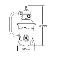 Фильтрационная установка Bestway 58397 Песочная (2 м³/ч)