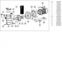 Насос Hayward Powerline Plus 81031 (0.75 HP)